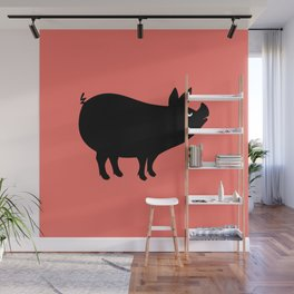 Angry Animals: Piggy Wall Mural