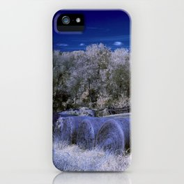 The Hay Field iPhone Case
