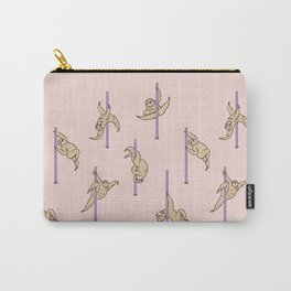 Sloths Pole Dancing Club Carry-All Pouch