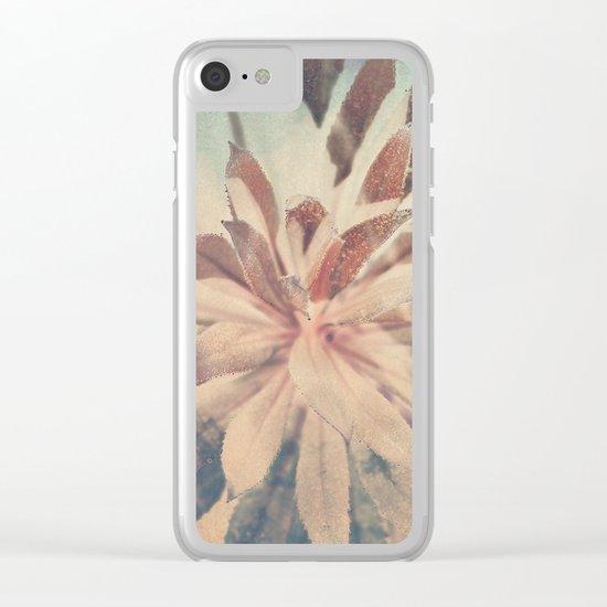 Vintage agava. Clear iPhone Case