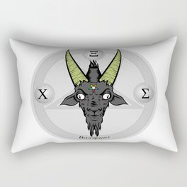 Baphomet Rectangular Pillow