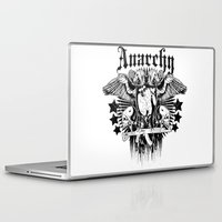 anarchy Laptop & iPad Skins featuring Anarchy by Tshirt-Factory