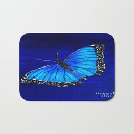 Butterfly Bath Mat