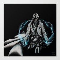 jedi Canvas Prints featuring Jedi by ED Art Studio