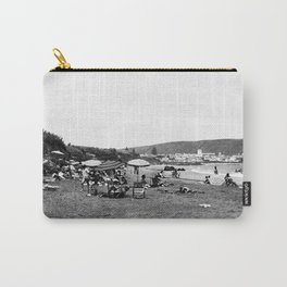 Vintage Santa Catalina Island Beach Photo Carry-All Pouch