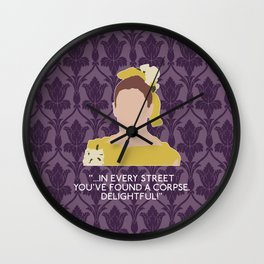 The Sign of Three - Molly Hooper Wall Clock