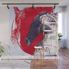Hero - the courage of the horse Wall Mural