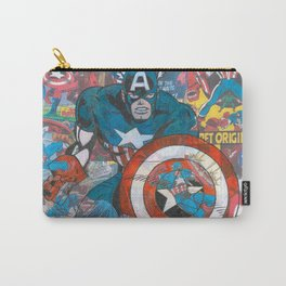 The American Superhero - Comic Art Carry-All Pouch