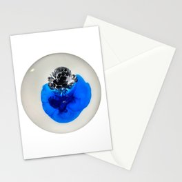Blue and Black Stationery Cards