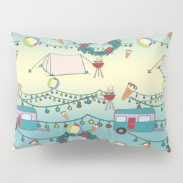 Kiwi Christmas Pillow Sham
