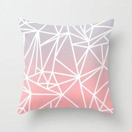 Gradient Mosaic 1 Throw Pillow