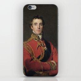 Duke of Wellington portrait iPhone Skin