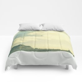 """""""There are few troubles not set to ease by breaking waves and salty air."""" Comforters"""