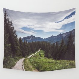 Greetings from the trail - Landscape and Nature Photography Wall Tapestry