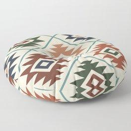 Aztec Symbol Pattern Col Mix Floor Pillow