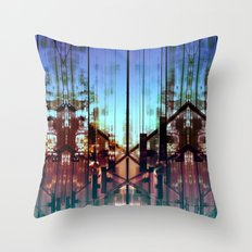 Flipped On Throw Pillow