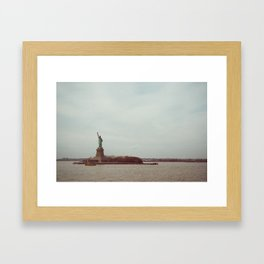 View from the Ferry Framed Art Print
