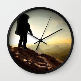 Astronauta Wall Clock