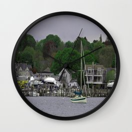 Spring Day at Padanarum Village Wall Clock