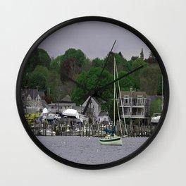 Spring Day at Padanarum Village Wall Clock