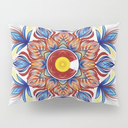 Colorado Mandala  Pillow Sham