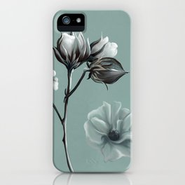 Cotton Blossom iPhone Case