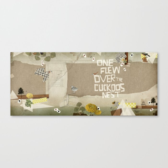 one flew over the cuckoos nest Canvas Print