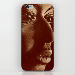 mama africa- brown iPhone Skin