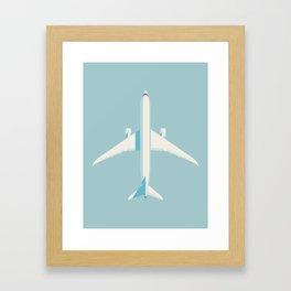 787 Passenger Jet Airliner Aircraft - Sky Framed Art Print
