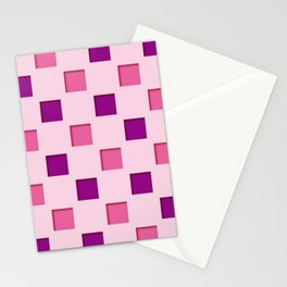 Japanese checkered pattern #11 Stationery Cards