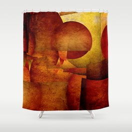 live without juggler III Shower Curtain