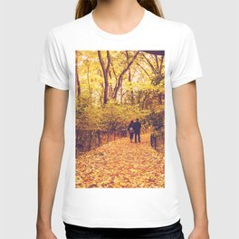 Fall Foliage - Autumn's Finest - New York City T-shirt