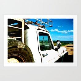 Camioneta Art Print