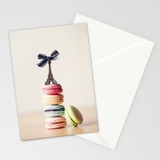 Macarrons Stationery Cards