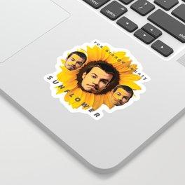 Rex Orange County Sunflower Sticker