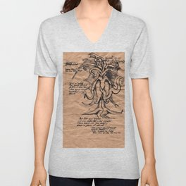 Lovecraft Series: the Old Ones Unisex V-Neck