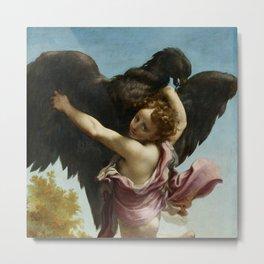 """Antonio Allegri da Correggio  """"Ganymede Abducted by the Eagle"""" Metal Print"""