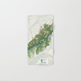 National Conservation Lands - Wild Rogue Wilderness (2014) Hand & Bath Towel