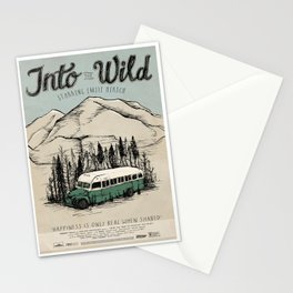 Into The Wild Film Poster Stationery Cards