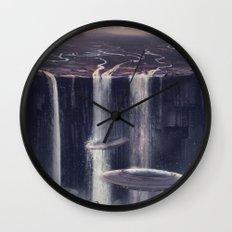 wash&go Wall Clock