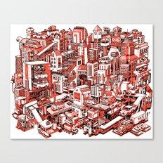 City Machine Canvas Print