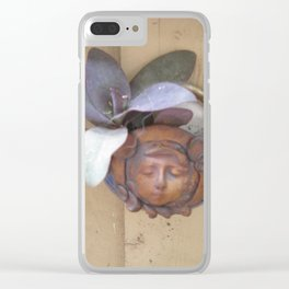 Wandering Jew Clear iPhone Case