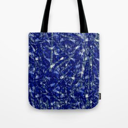 Blue Camouflage Tote Bag