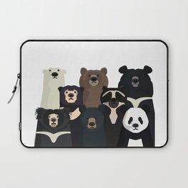 Bear family portrait Laptop Sleeve