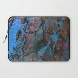 The Painter's Brush :: Corrupted Ocean Laptop Sleeve