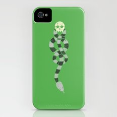 The Scarf Mark - Green and Black Slim Case iPhone (4, 4s)