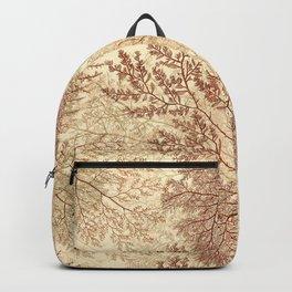 Warm Seaweed Pattern Backpack