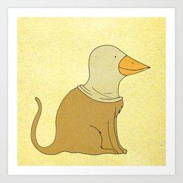 animal fake Art Print