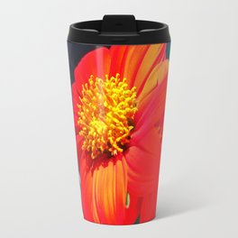 Tithonia Mexican Sunflower Travel Mug