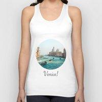 venice Tank Tops featuring Venice! by Adrian Lungu